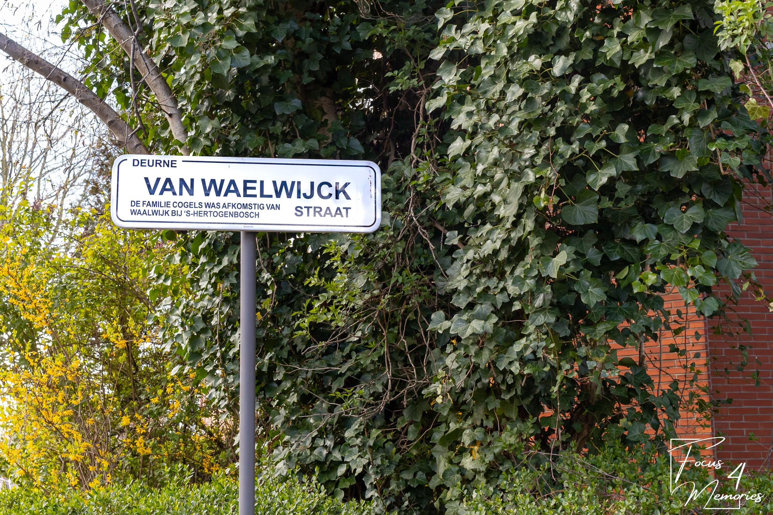 deurne leeft Van Waelwijckstraat