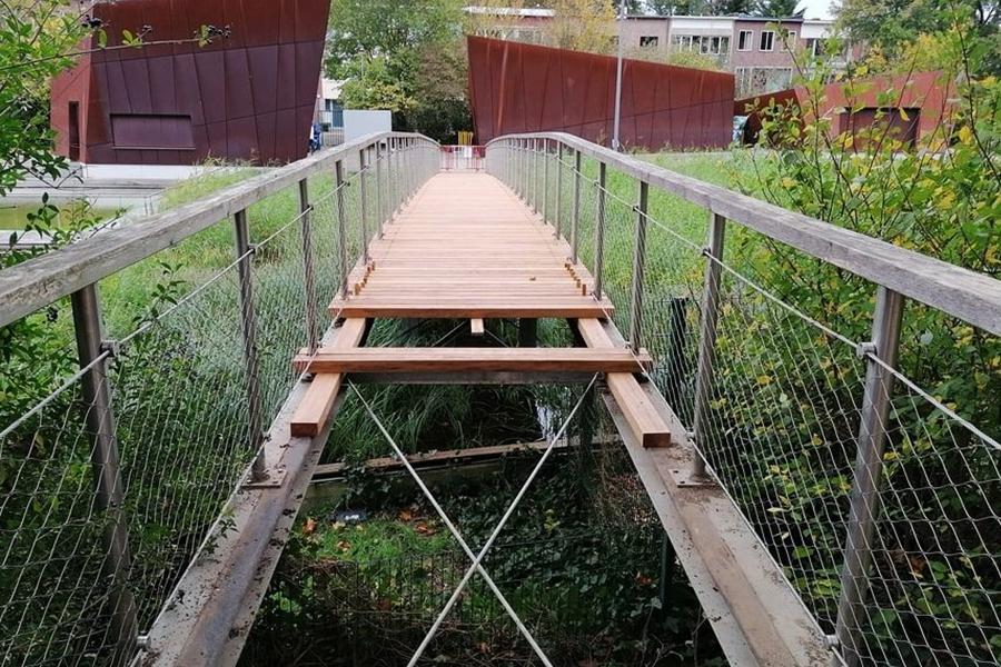 deurne leeft boekenbergpark brug gerepareerd peter wouters