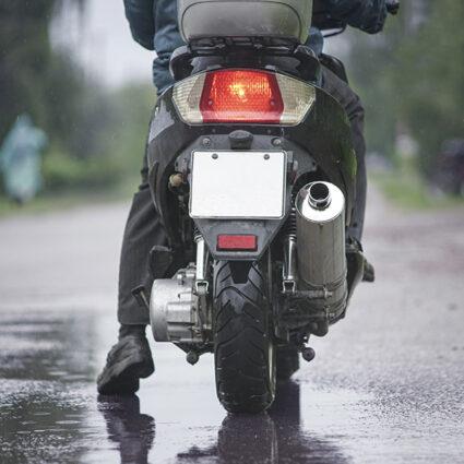 deurne leeft scooter foutieve nummerplaat politie antwerpen