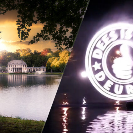 Deurne leeft kasteel rivierenhof exclusief diner aan de spiegelvijver tijdens laser show