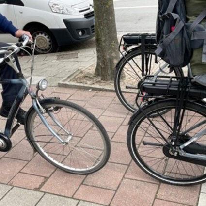 deurne leeft fietsers herentalsebaan politie