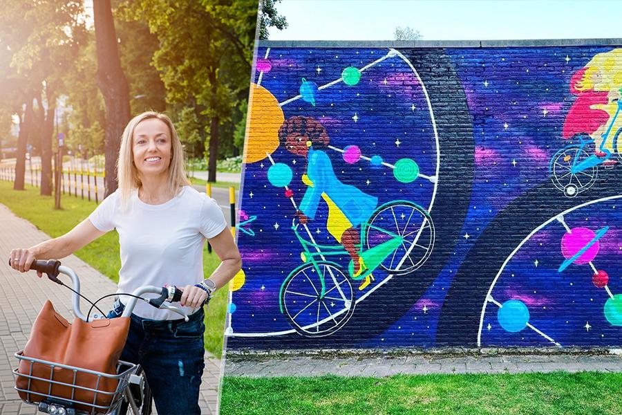 deurne leeft fietstocht zijkant evenement bisschoppenhofpark