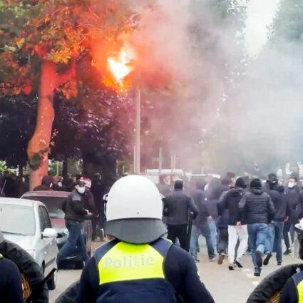 deurne leeft frankfurt bosuil antwerp rellen politie